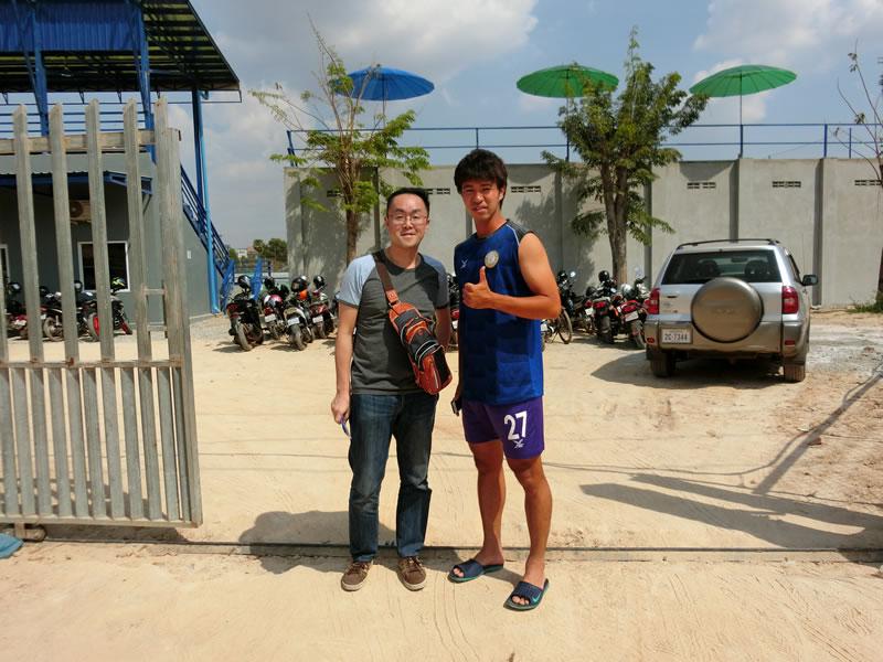 アカデミー卒業生関連2020/03/07 カンボジア(ナーガワールド)でプレーする寄特直人に会ってきました。